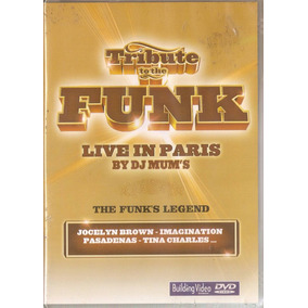 Dvd Tribute To The Funk - Live In Paris By Dj Mum