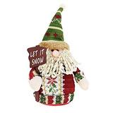 Decoración Adornos De Navidad Regalos - Muñeco De Nieve / P