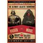 Cuadros Modernos Star Wars Versus Darth Vader Vs Darth Maul