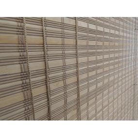 Persiana Cortina Rolo De Bambu Imbuiá 1,20 X 1,60 Alt