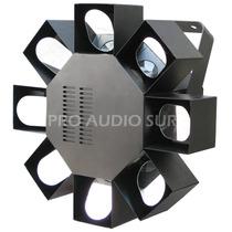 Scanner 8 Espejos Maintec Led Rgb Dmx Efecto Strobo Tecshow