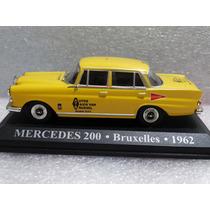 Taxi Mercedes 200 Bruxelles 1962 Altaya 1:43 - *** Ver Obs.
