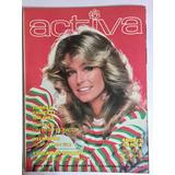 Farrah Fawcett En La Revista Activa Finales 70