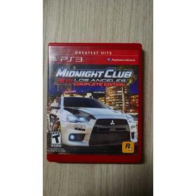 Midnight Club Komplete Edition - Jogo / Ps3 - Frete Barato