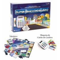 Super Banco Imobiliário Com Máquina De Cartão