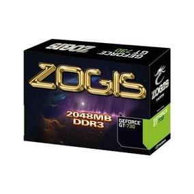 Placa De Video Zogis Geforce Gt 730 2gb Ddr3 128bits