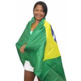 Bandeira Do Brasil Torcida Jogo Grande Torcer Copa Do Mundo