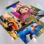 Painel De Aniversário Frozen - Todos Os Temas 2,00x1,00m