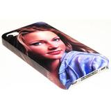 Capa Case Capinha Para Iphone 4 / 4s Personalizada Com Foto