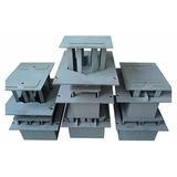 Forma Máquina De Blocos, Pavimento Sextavado 24x24 C/ 6 E8cm