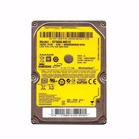 Hd Samsung 500 Gb Sata 2.5´ 5400rpm P/ Notebook