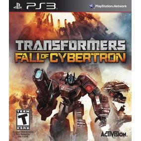Transformers: Fall Of Cybertron - Ps3 - Original Lacrado Nf