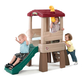 Tobogan Resbaladilla Casa De Arbol Para Niños Treehouse