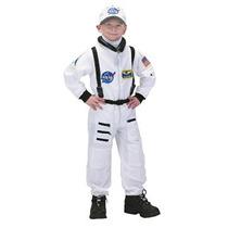 Disfraz Niño Traje Aeromax Jr. Astronauta Con El Casquillo