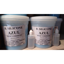Borracha De Silicone Azul Com Catalisador De 30grs