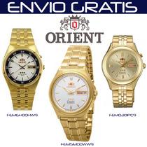 Reloj Orient Automatico Alta Precisión Garantia Resiste Agua
