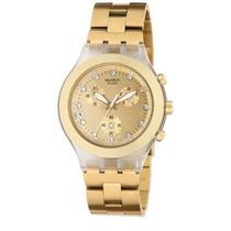 Reloj Swatch Svck4032g Dorado