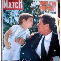 Revistas Paris Match De Kennedy En Frances