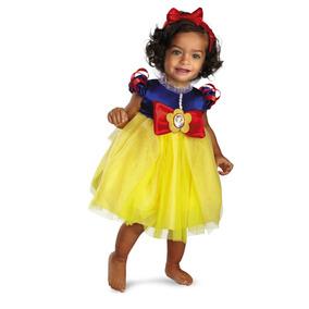 Disfraz Blanca Nieves Bebe Princesas Halloween