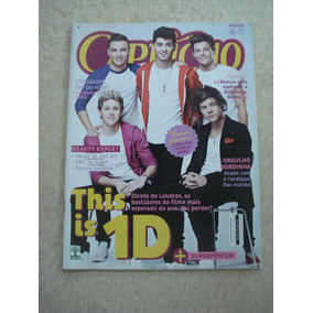 Revista Capricho One Direction Justin Bieber Lily Collins