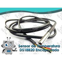Sensor De Temperatura Ds18b20 Encapsulado Arduino Pic