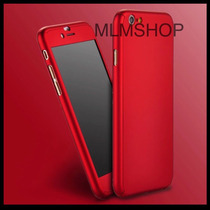 Funda 360 Iphone 7 6 5 Full Cover + Cristal Templado