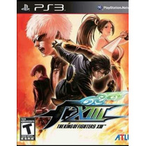 The King Of Fighters Xiii Ps3 Mídia Digital