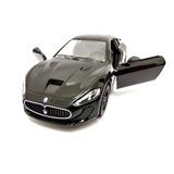 Miniatura 2016 Maserati Granturismo Mc Stradale Preta 1:38