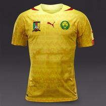 Jersey Selección Camerún Visitante Mundial Brasil 2014 Puma