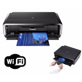 Impresora Tinta Color Cd Dvd Canon Ip7210 Recargables