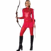 Disfraz Hunger Games Katniss Rojo Para Damas Envio Gratis
