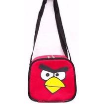 Lancheira Térmica Angry Birds Infantil Porta Escolar Passeio