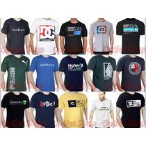 Kit 10 Camiseta Camisa Blusa Masculina De Marca Atacado