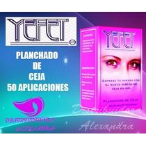 Yefet Planchado De Cejas 50 Aplicaciones