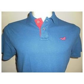 Camiseta Polo Hollister Masculina 100% Original Em Gg Nova