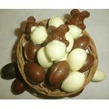 Huevos De Chocolate, Pascuas, Mensajes Letras Souvenires