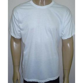 Camisetas Básica Poliéster Gola V Ou U Sublimação G5 Ao G8