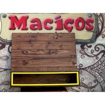 Painel P/ Tv Com Nicho Mod.retrô Rack Sob Medida Em Madeira