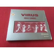 Virus - Obras Cumbres Cd Doble - Ind Arg