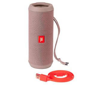 Mini Caixa Som Bluetooth Portatil Flip 3 Marca Jbl Cinza Usb