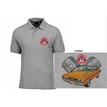Camisa Polo Bordada Dodge Mopar Charger Rt