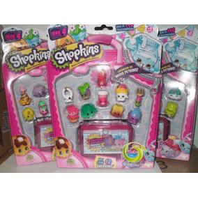 Shopkins Serie 4 Blister Kit Com 12 Shopkins Dtc Natal Kids