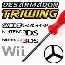 Desarmador Triwing Nintendo Wii Gba Gbc Nds Ds Lite