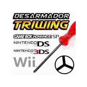 Desarmador Triwing Nintendo Wii Gba Gbc Nds Ds Lite
