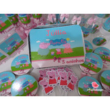 Kit Festa Infantil Personalizado 180 Itens