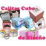 Cajita Dulcero Personalizada Diseño Cupcake Caja Recuerdo