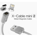 Cable Magnético Android Y Iphone Samsung Micro Usb Wsken