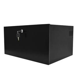 Mini Rack Organizador 5u Onix Para Dvr Com Bandeja