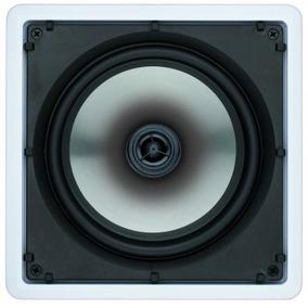 Caixa Teto Gesso Som Home Theater Embutir Sq8 Loud Audio