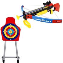 Kit Arco Flechas Mira Laser Infantil Alvo Aljava Bel 490400